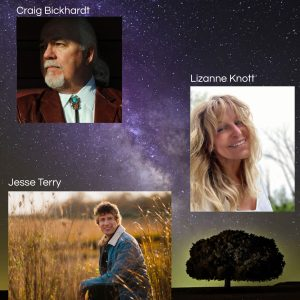 Songwriters Showcase featuring Lizanne Knott, Craig Bickhardt and Jesse Terry